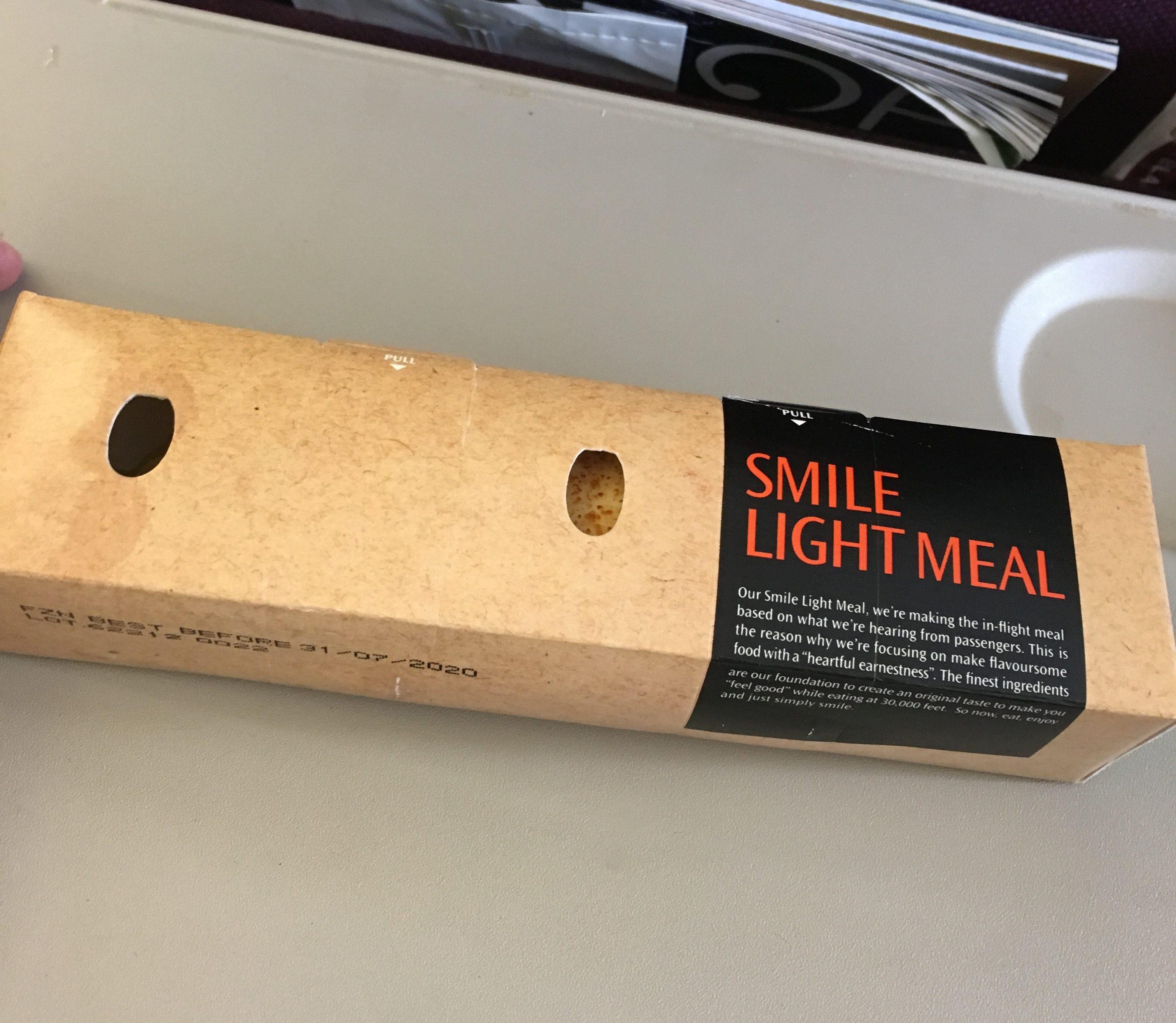 タイスマイル(THAI Smile)の機内食