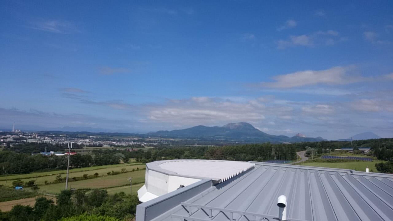 有珠山SAの展望台から見える景色②