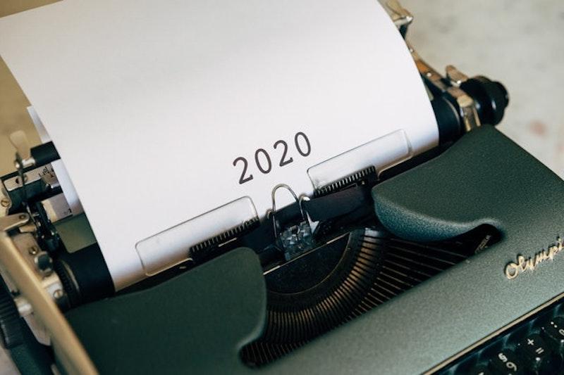 2020とタイプライター